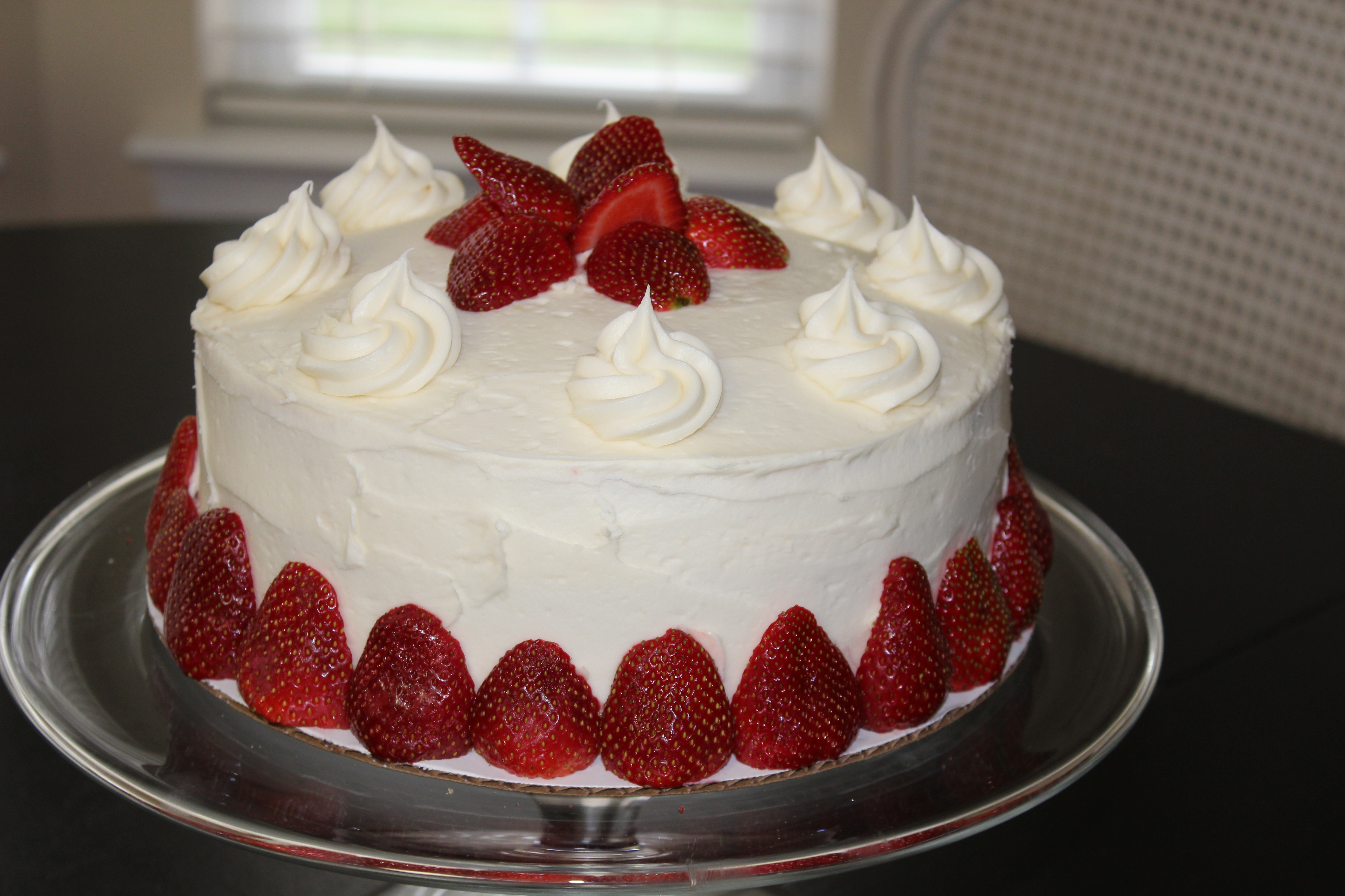 Fresh Strawberry Filling For Layer Cake