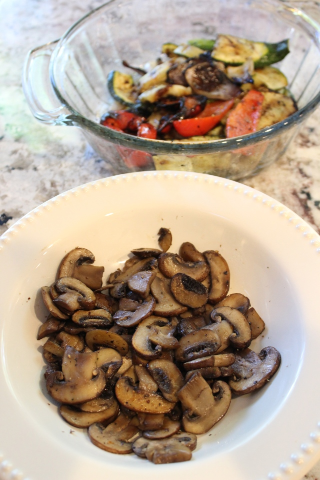 Grilled Vegetable - Mushrooms