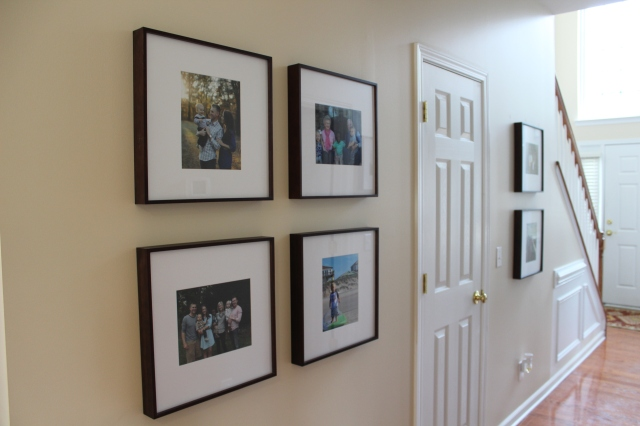 After Picture: Gallery Wall