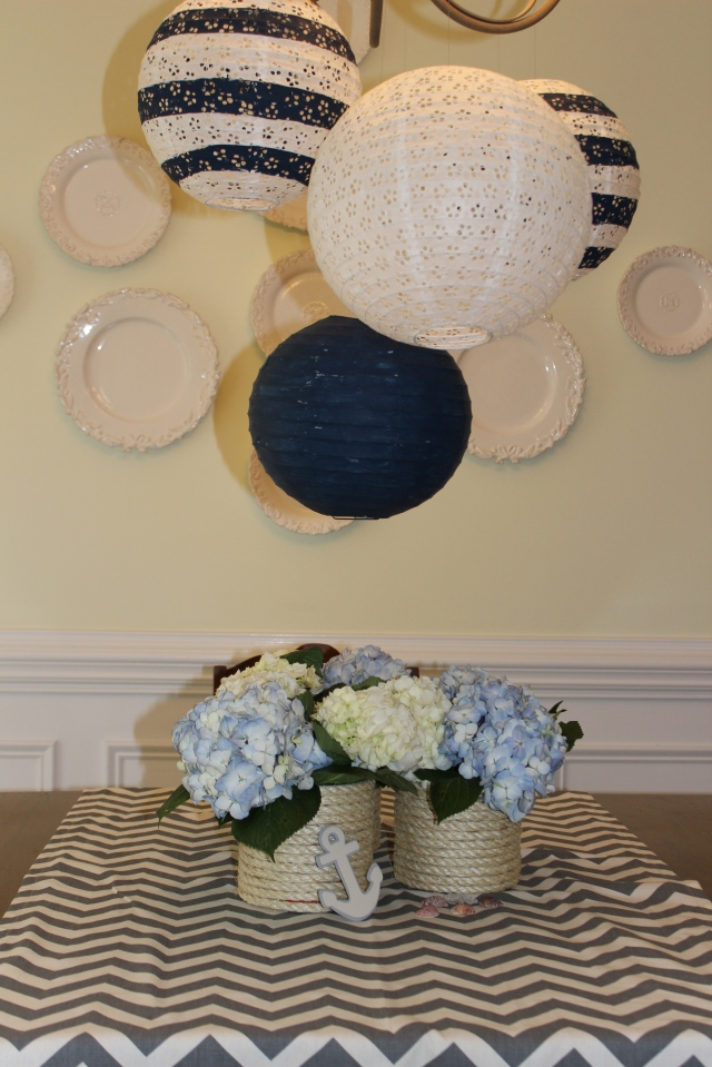 baby boy shower, nautical theme