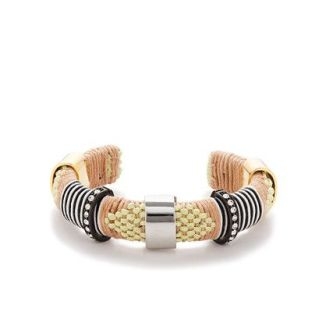 J Crew raffia wrapped bracelet for summer
