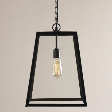 Glass Hanging Pendant Lantern
