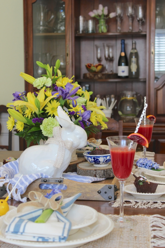 Easter centerpiece and brunch ideas