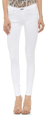 white skinny jeans on sale