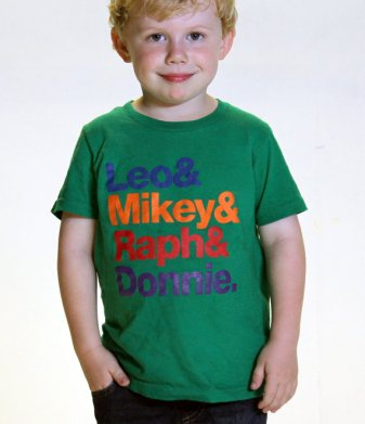 Ninja Turtles kids t-shirt