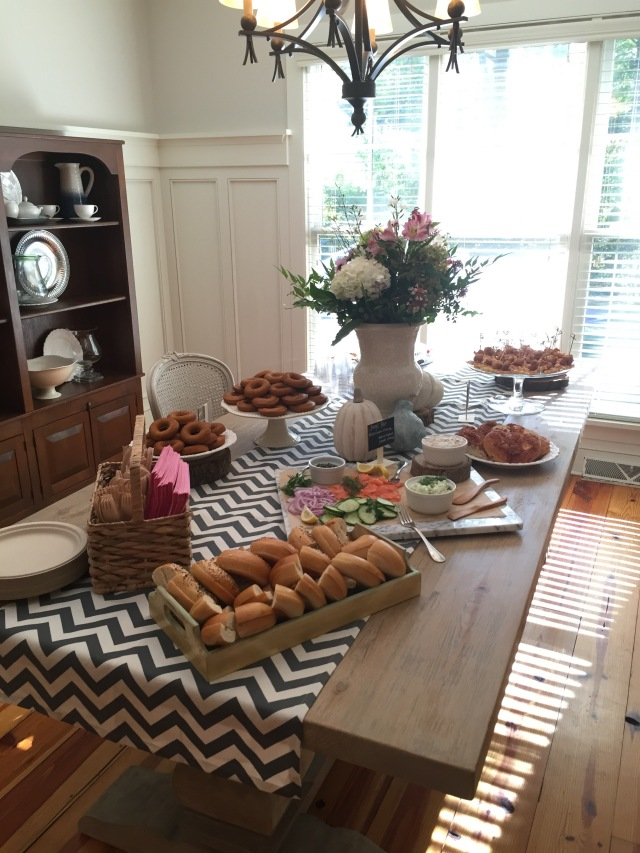 brunch food for baby shower