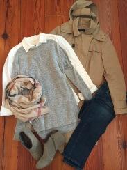 weekend in Paris wardrobe