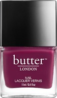 butter LONDON Queen Vic; purple nail polish