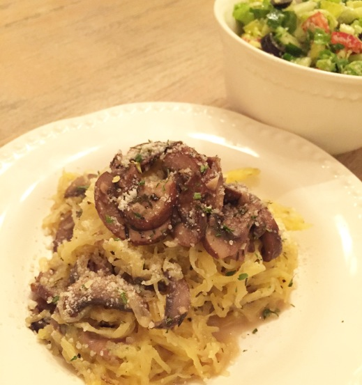 spaghetti squash recipe; pinterest success