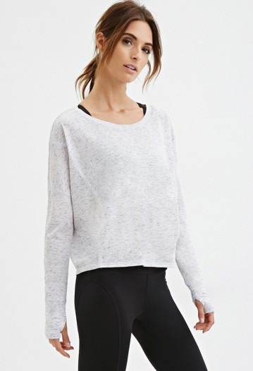 casual gym sweatshirt from Forever 21