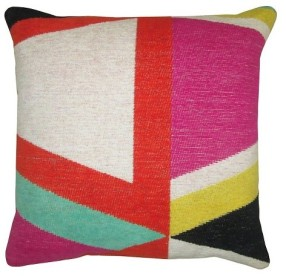 bright Target Threshold pillow
