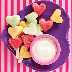 healthy Valentine's idea for kids