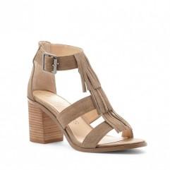 fringe sandal; sole society
