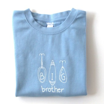 Honey Bee Tees big brother t-shirt