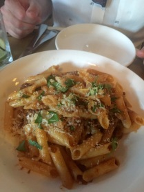 gluten free pasta at The Obstinate Daughter in Charleston, SC