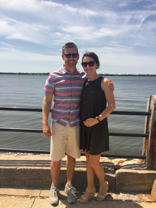 18 weeks pregnant; Charleston trip